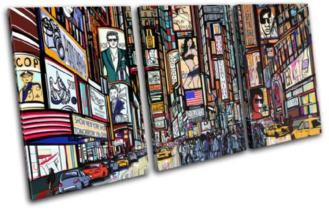 New York Illustrated City - 13-0571(00B)-TR21-LO